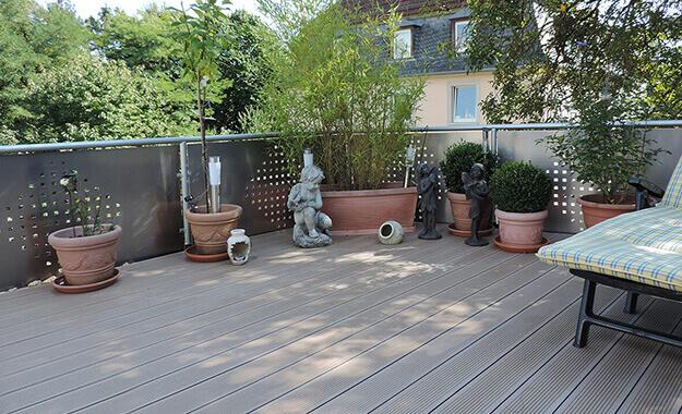 Neue Terrasse aus Resysta® von KP-Kunststoffprofile